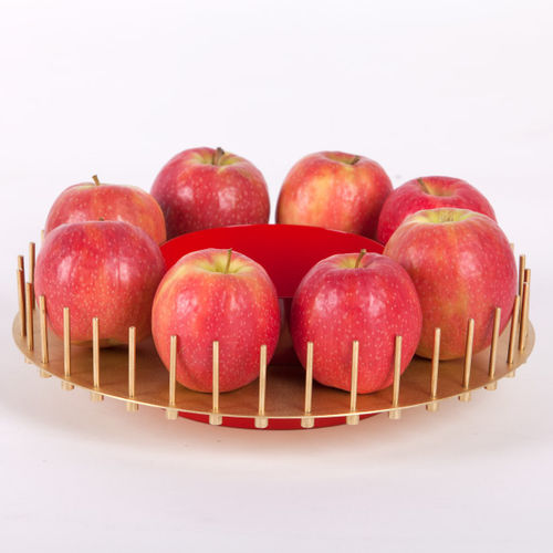 brass fruit basket / iron / for domestic use