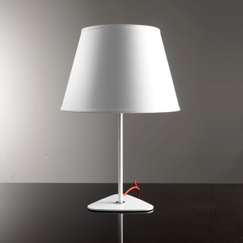 table lamp / contemporary / fabric / steel