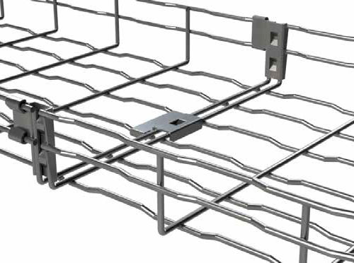 Steel wire mesh cable tray - MP Husky - Videos