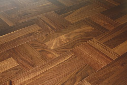 engineered parquet floor / nailed / floating / glued