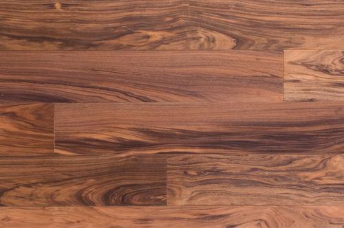 engineered parquet floor / glued / oiled / brushed