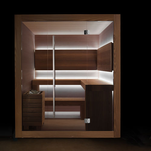 Finnish sauna / home / commercial / wooden