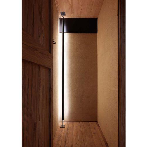 floor-standing lamp / minimalist design / aluminum / LED