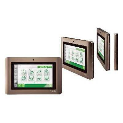 access control touch screen / for security / wall-mounted