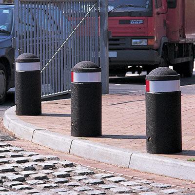 security bollard / rubber / flexible