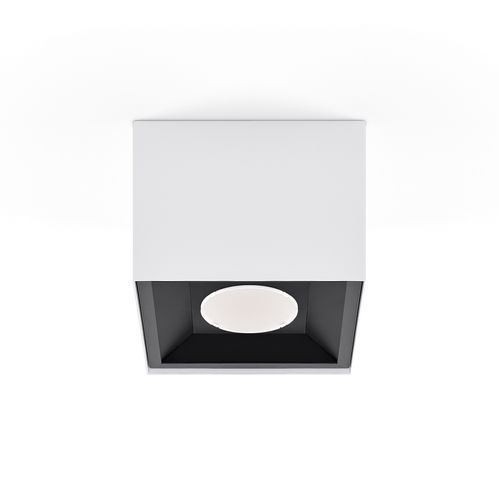 surface mounted downlight / LED / square / rectangular