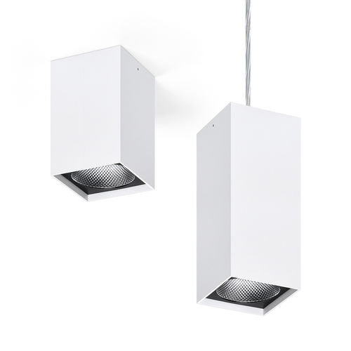 surface mounted downlight / pendant / LED / square
