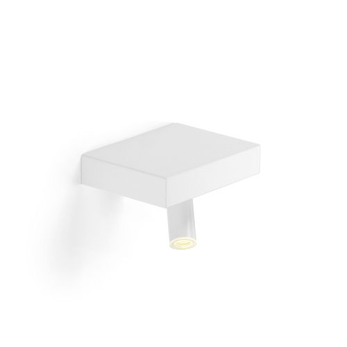 contemporary wall light / extruded aluminum / sheet steel / polycarbonate