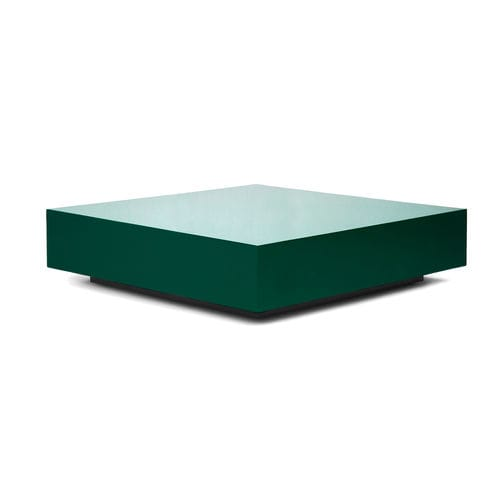 contemporary coffee table / lacquered wood / square / custom