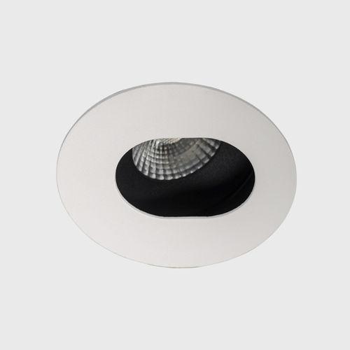 Recessed downlight / LED / round / aluminum SAVAGE ASYMMETRIC Brilumen