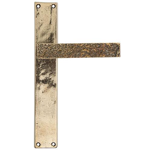 door handle / bronze / rustic / gold finish
