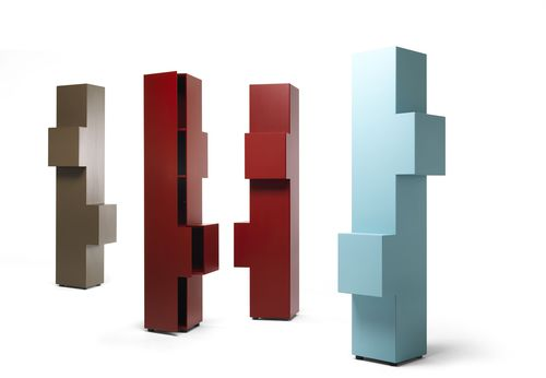 tall filing cabinet / MDF / contemporary