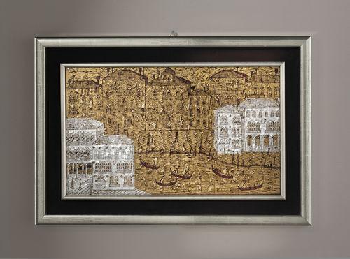 Decorative panel / Murano glass / wall-mounted / 3D VENEZIA 3D veveglass