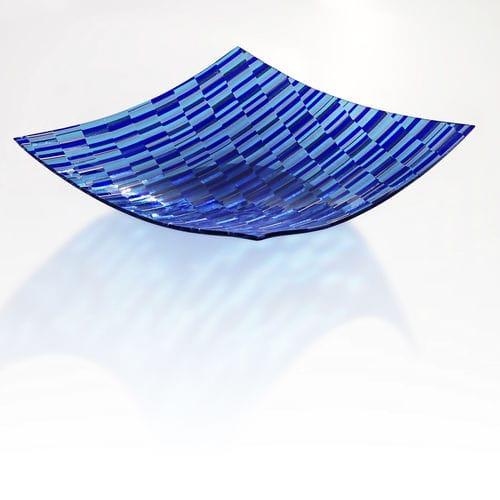 Murano glass centerpiece OCEAN veveglass