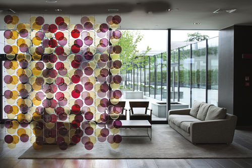 Murano glass room divider / commercial