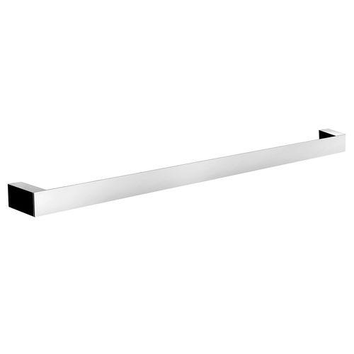 1-bar towel rack / wall-mounted / chrome-plated brass