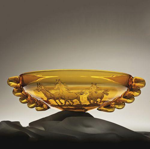 crystal centerpiece