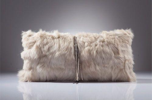 sofa cushion / rectangular / plain / fabric