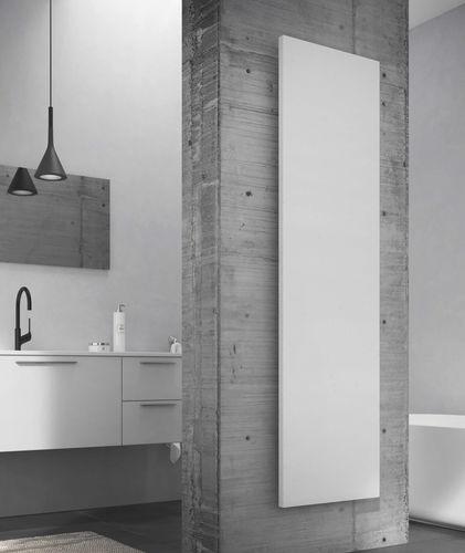 hot water radiator / electric / steel / stone