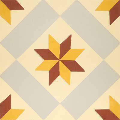 Indoor encaustic cement tile / outdoor / floor / wall