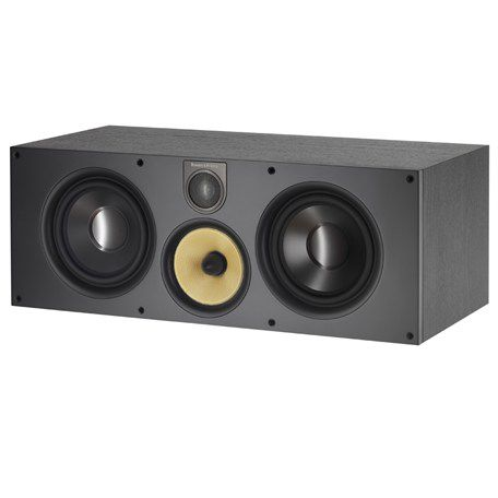central speaker / wooden / aluminium