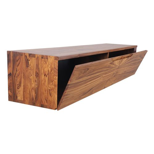 contemporary TV cabinet / teak