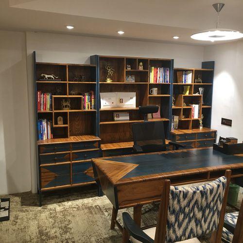 high sideboard / traditional / solid wood / teak