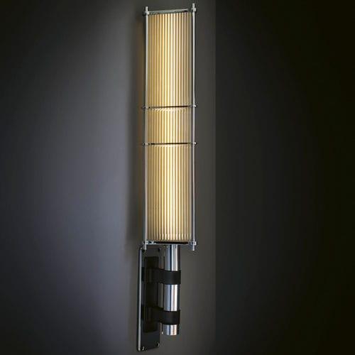 contemporary wall light / brass / acrylic / LED