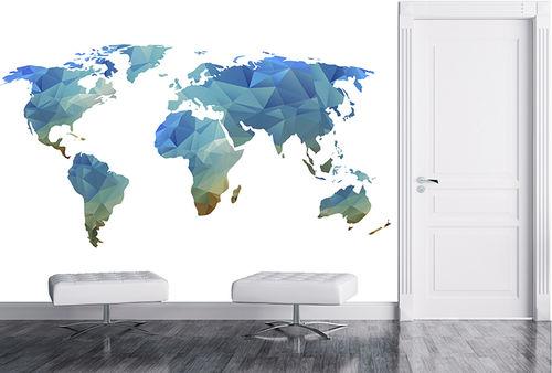 vinyl wallcovering / home / 3D effect