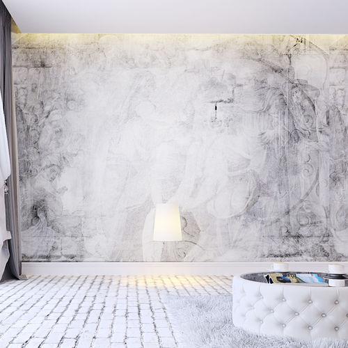 classical style wallpaper / nonwoven fabric / vinyl / art print