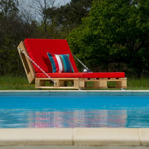 Contemporary sun lounger PAL-019  ESPIA