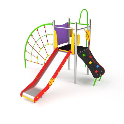 playground play structure / HDPE / metal