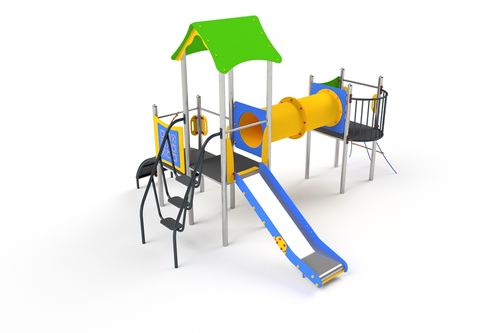 playground play structure / metal
