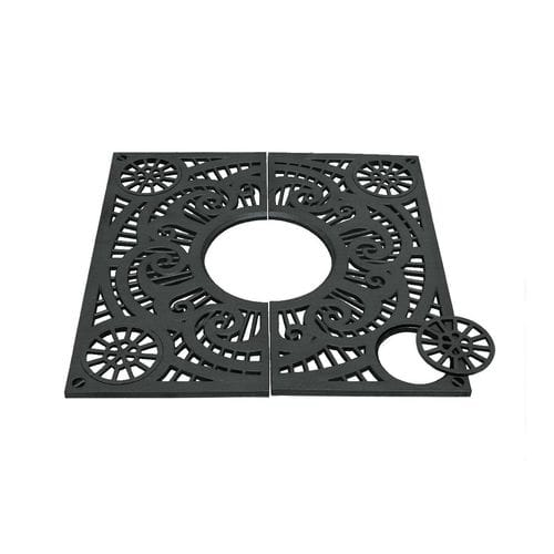 cast iron tree grate / square