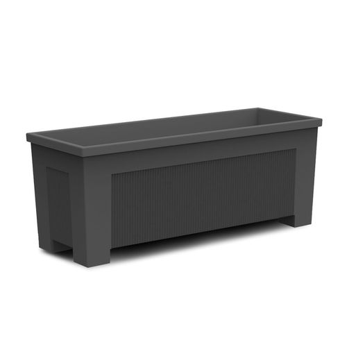 cast iron planter / rectangular / custom / contemporary