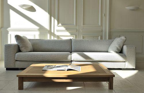 contemporary sofa / fabric / 2-person / 2.5-seater