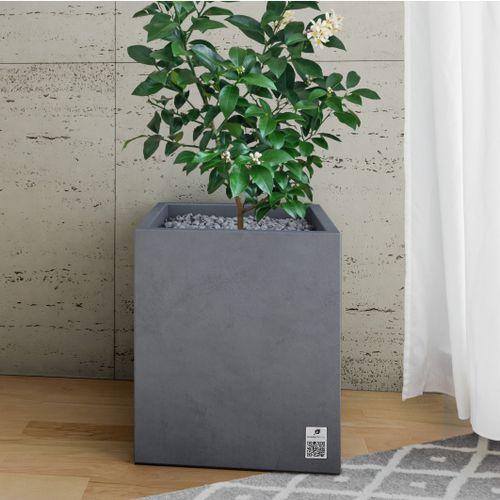 Concrete planter / rectangular / square / contemporary REGULAR Modern Line