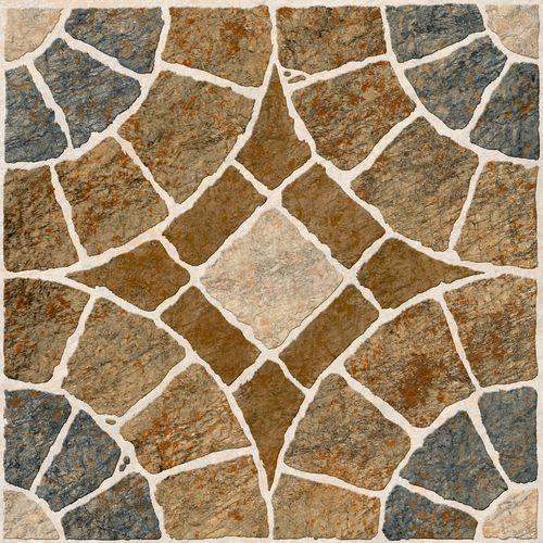 Outdoor tile / for floors / ceramic / geometric pattern - DECCAN ...