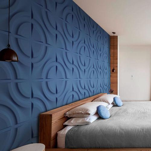 plastic decorative panel / wall-mounted / for false ceilings / bathroom