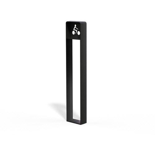 cast iron bike rack / secure / for public spaces