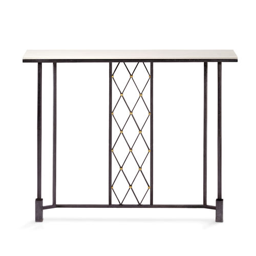 Sideboard table / traditional / glass / iron AUGUST Mobilier De Style