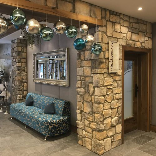 engineered stone wall cladding / exterior / interior / textured