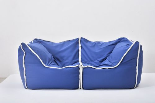 contemporary bean bag / Sunbrella® / waterproof / with washable removable cover