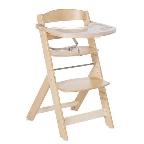 standard highchair / wooden