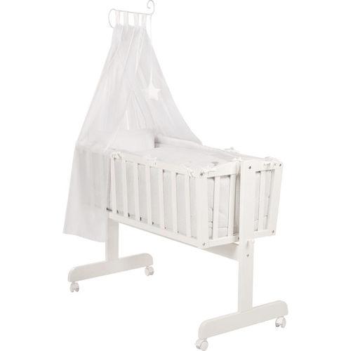rocker cradle / wooden / unisex