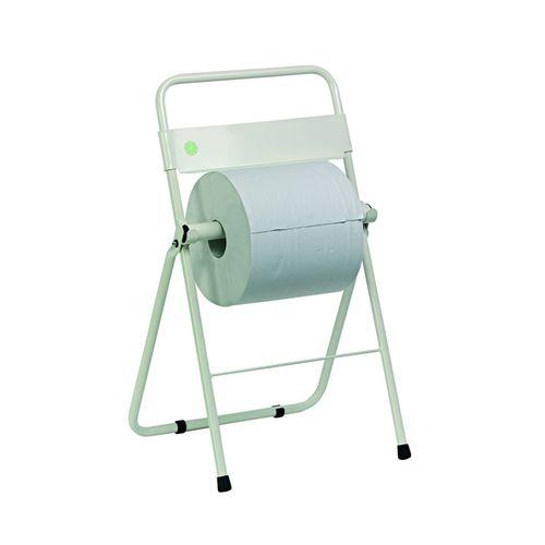 free-standing paper towel dispenser / metal