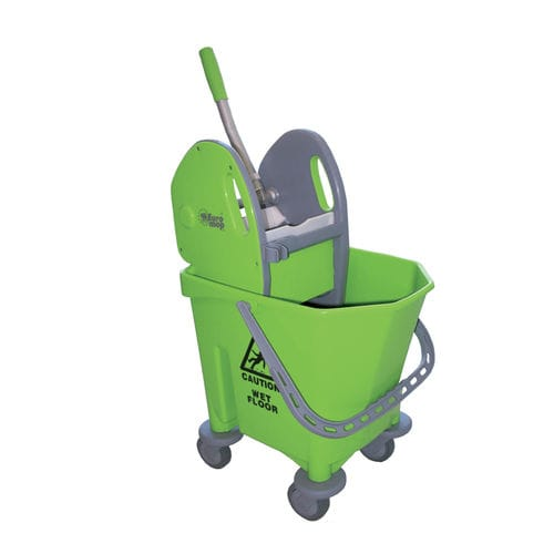 cleaning trolley / commercial / polypropylene