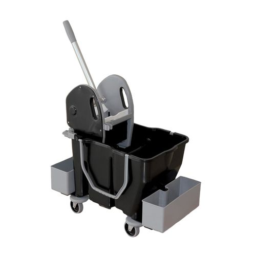cleaning trolley / commercial / recycled plastic