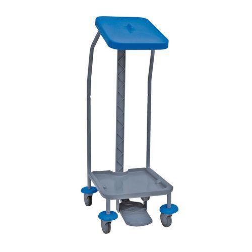 waste trolley / commercial / polypropylene