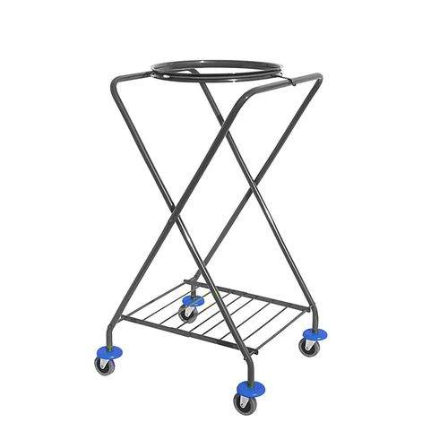 waste trolley / commercial / metal